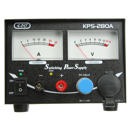 K-PO KPS 280A 20-25amp Power supply with Meters